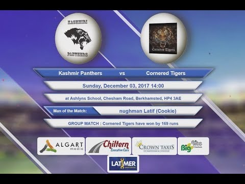 Video Kashmir Panthers VS Cornered Tigers - 03-Dec-2017