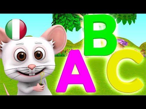 Abcs | Filastrocche In Italiano | Animazione Per Bambini | Fumetto Dei Capretti | ABC Song