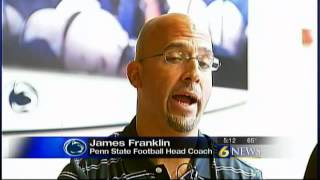 Franklin talks PSU Athletic Director Search