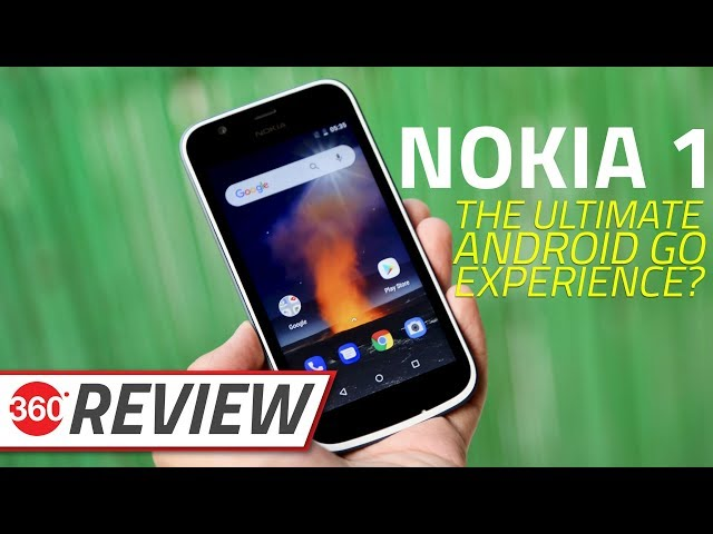 Does Android Go give the Nokia 1 an edge  Let s find out in our full review. 5dc372e59b7ee