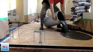 How To Make Plywood Subfloor Leveling For Tile Installation - Mryoucandoityourself