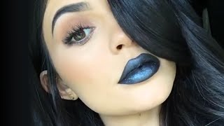 KYLIE JENNER DIY KYMAJESTY Lipstick Makeup Tutorial