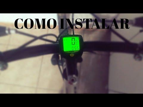 Como instalar velocímetro (ciclocomputador) wireless