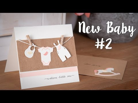 How to Make a Baby Shower Card!
