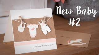 How to Make a Welcome Little One Card - Sizzix