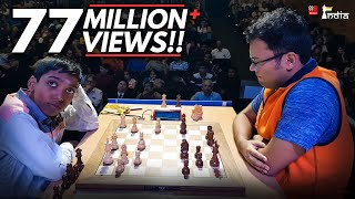 Praggnanandhaa vs Ganguly | Tata Steel Chess India Blitz 2018