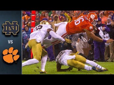 Notre Dame vs. Clemson Football Highlights (2015)