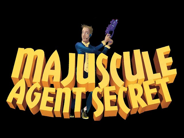 Majuscule Agent secret, spectacle jeune public