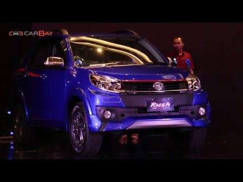 Toyota Rush TRD Sportivo 2016 Launch