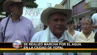preview picture of video 'Por las Principales Calles de Yopal se Llevo a cabo la Marcha por el Agua'