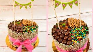 TORTA DE GOLOSINAS 🍭 | CANDY CAKE 🎂 | FIORELLA CAKE