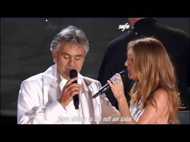 Céline Dion & Andrea Bocelli