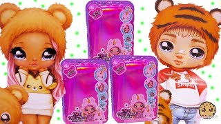 Na! Na! Na! Surprise Cute Animal Hat Plush Fashion Dolls NEW Video Review