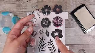 Basic Ink Resist Technique For Cardmaking #Handmade