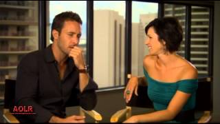 H50 Season 2 Funny Interview With Alex Oloughlin