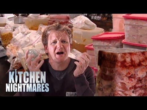Gordon Ramsay Is Sick Of Frozen Food | Kitchen Nightmares