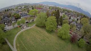 """Day 33 The 2"""" cygnet micro in the park. 15 min FPV break outside after store trip."""