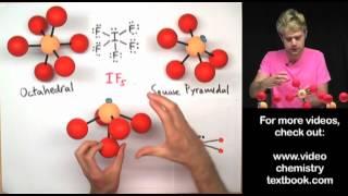 VSEPR Theory Part 3: Octahedral Family
