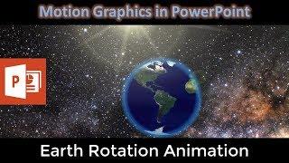 Rotasi Bumi Pada Animasi Sumbu | Tutorial PowerPoint 2016