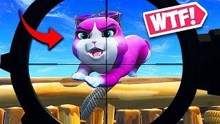 *NEW* FORTNITE PET IS CRAZY! - Fortnite Funny Fails and WTF Moments! #498