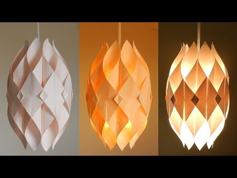 DIY Lamp (Eternal Flame) - Learn How To Make A Paper Lampshade/lantern - EzyCraft Mp3