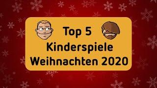 Top 5 Kinderspiele - Brettspiele - Geschenktipps zu Weihnachten 2020