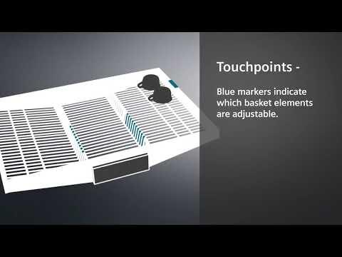 Siemens Freestanding 60 Cm Dishwasher SN25ZW49CE - White Video 2