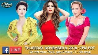 Livestream với Thanh Hà, Minh Tuyết, Như Ý - November 8, 2018
