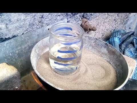 Как сделать соляную кислоту в домашних условиях. Методом перегонки...