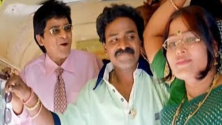 Ali And Venu Madhav Bus Journey Comedy Scenes || Tarun || Sneha || TFC Comedy Time