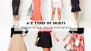 Top 10 Styles Of SKIRTS That Should Be In Every Girls Wardrobe || BRANYTEDDY