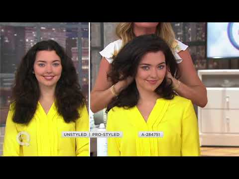 Drybar Baby Buttercup Travel Hair Dryer w/ Brush & Triple Sec on QVC