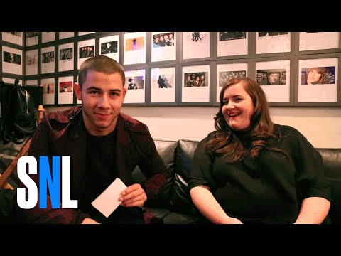 Two-Way Q&A: Nick Jonas and Aidy Bryant