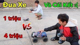 Lâm Vlog - Đua Xe Điều Khiển Từ Xa Giá 4 triệu vs 1 Triệu và Cái Kết Cháy Xe | RC Car Racing