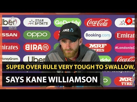 Kane Williamson: Super Over rule very tough to swallow | World Cup Final
