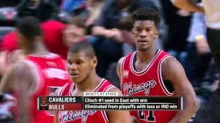 Cleveland Cavaliers vs Chicago Bulls | April 9, 2016 | NBA 2015-16 Season
