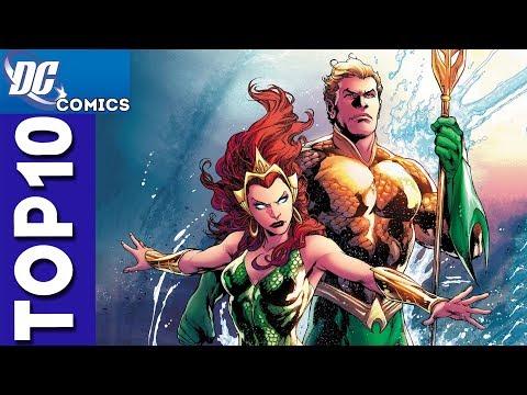 Top 10 Aquaman and Mera Moments