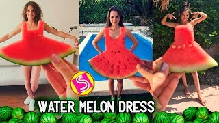 Watermelon Dress Challenge Funny Compilation   Best Musers #WatermelonDress