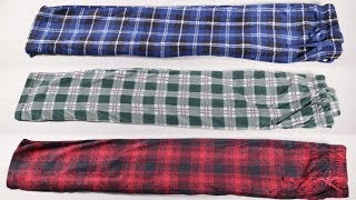 (3 Pack) Men's Soft Fleece Lounge Pajama Pants - With Pockets