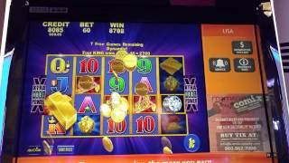Stack of Gold Bonus Win 281x Bet Win at Mohegan Sun!