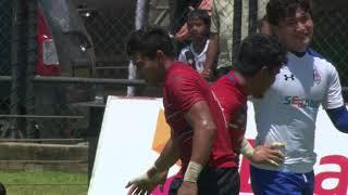 Korea Vs Malaysia -Asia Rugby Sevens Series  - Sri Lanka 7s 2018
