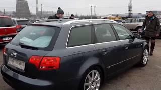 Пригон авто под заказ / Рынок Каунас нашли Audi A4 b7 2005 год 2.0 тди / смотрим