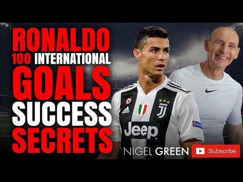 Ronaldo 100 plus International Goals! Success Secrets Nigel Green deVere CEO