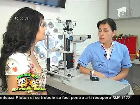 Refacerea tratamentului cu exerciții de vedere