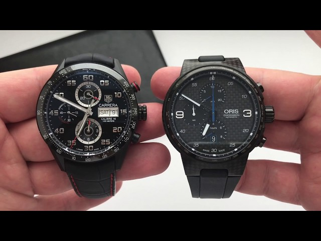 Видео Часы Carrera