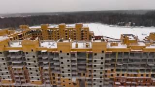 "Urban Group: Город-курорт ""Митино О2"". Съемка с квадрокоптера 11 декабря 2016"