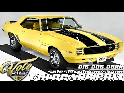 1969 Chevrolet Camaro (CC-1416045) for sale in Volo, Illinois