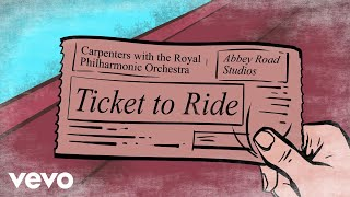 Gambar cover Carpenters - Ticket To Ride (Lyric Video)