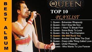 TOP 10 QUEEN SONG    10 LAGU TERBAIK QUEEN  SEPANJANG MASA #POPULER