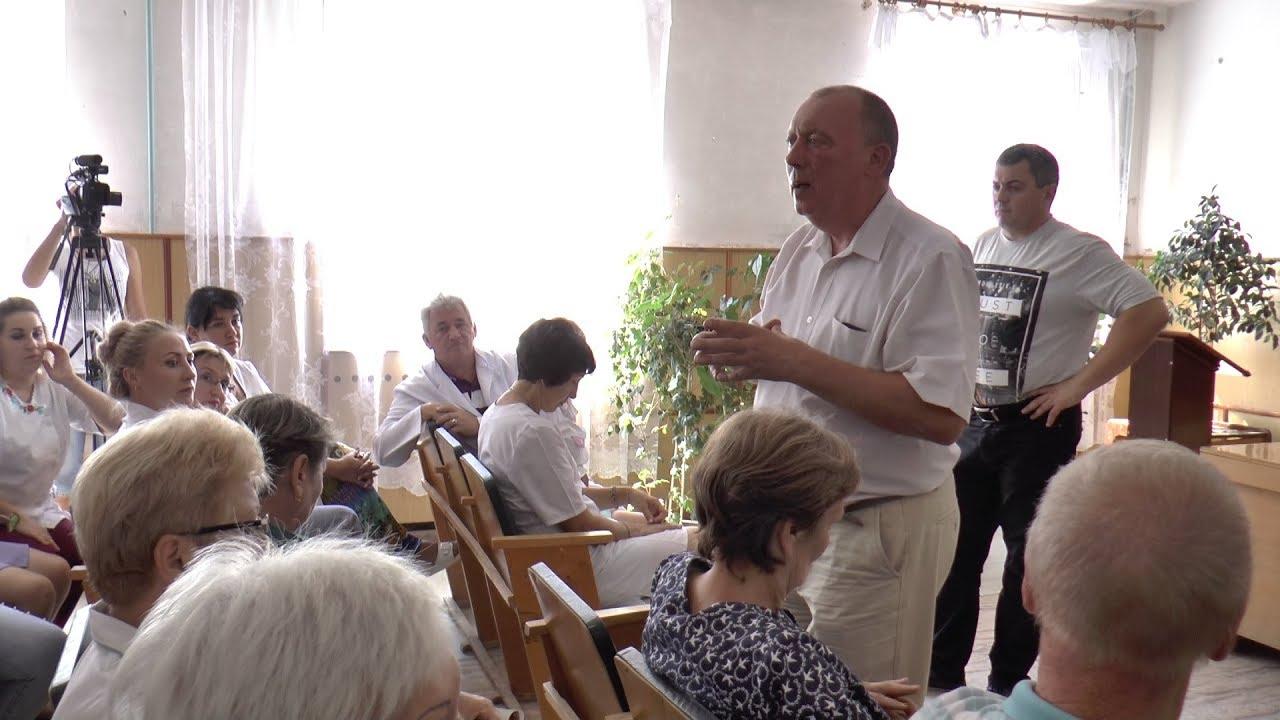 Зустріч міського голови Сергія Хортіва з колективом міської лікарні